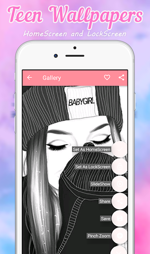 Screenshot for Teen Wallpapers in United States Play Store