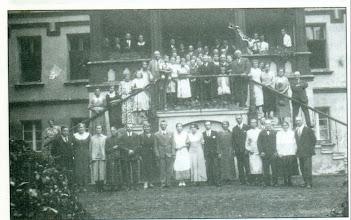 Photo: Przed Zameczkiem, prawdopodobnie lata 30. XX wieku.