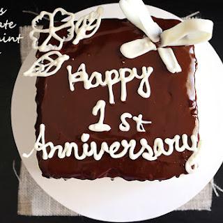 Eggless Chocolate Peppermint Cake