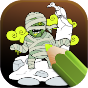 Post-apocalyptic Zombies Coloring Pages
