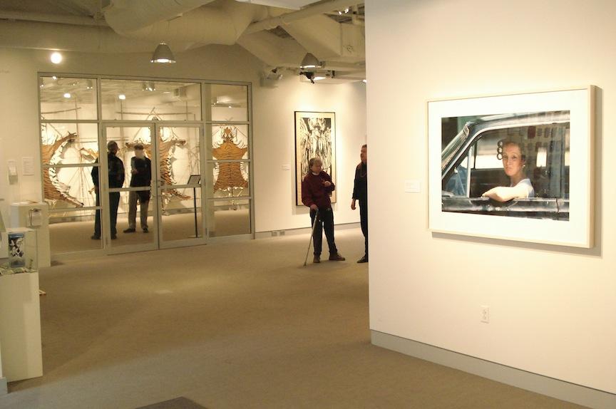 Photo: Left - John Goodman, photograph.  (C) Ruth Marshall, 2012.