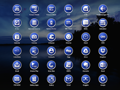 Enyo Blue - Icon Pack screenshot 7