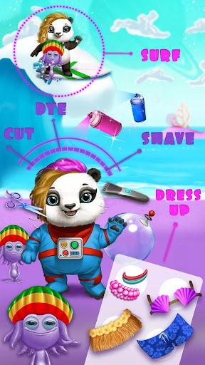 Space Animal Hair Salon - Cosmic Pets Makeover screenshot