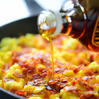 Pancake Breakfast Pizza.