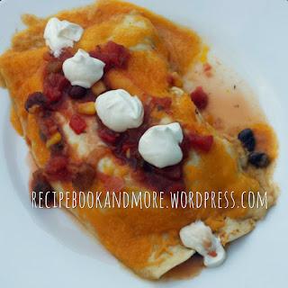 Cheesy Chicken Enchiladas {freezer meal}