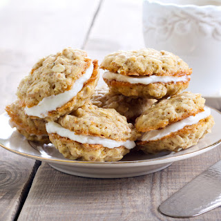Easy Airfryer Oaty Sandwich Biscuits