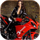 Sportbike Girl LiveWallpaper