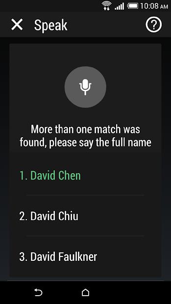 HTC Speak screenshot 2