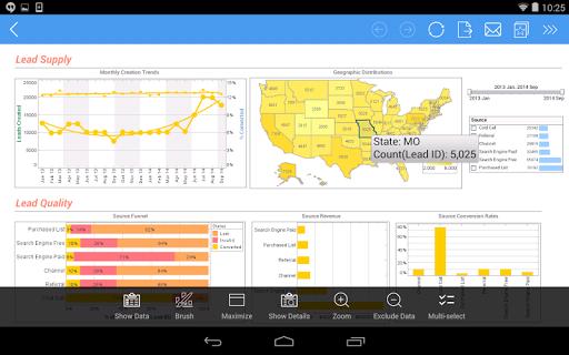 InetSoft Mobile Version 12.1 1.0.3 screenshots 7