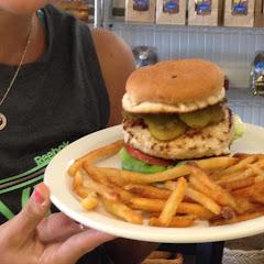 Gf turkey burger!