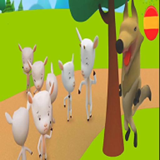El Lobo y Los siete chivitos Cuento infantil