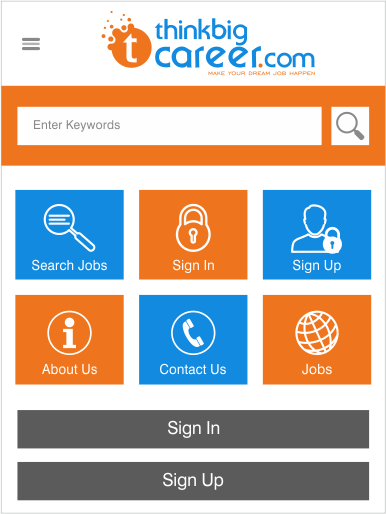 Jobs Portal- screenshot