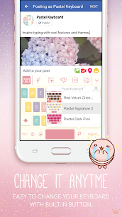 Pastel Keyboard Theme Color Add colorful design 2.2.0 Paid 3