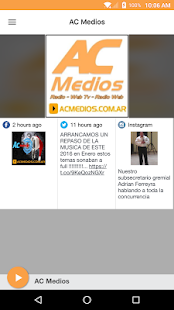 AC Medios- screenshot thumbnail