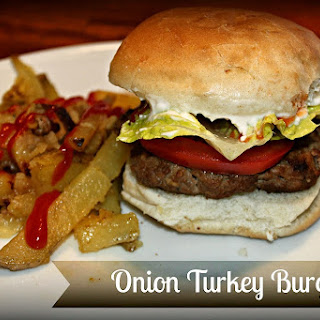 Onion Turkey Burgers Recipe