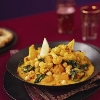 Gobi and Channa Dish