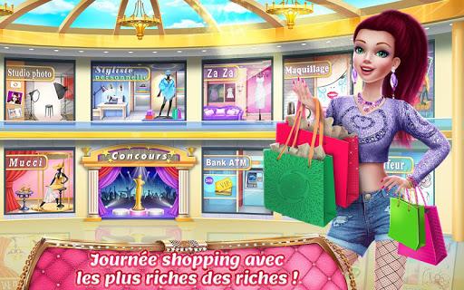 Code Triche Virée de luxe –Jeu de shopping APK MOD (Astuce) screenshots 4