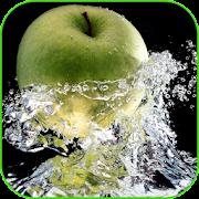 An Apple Lock Screen