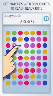SwappyDots - Match 3 Puzzle- screenshot thumbnail