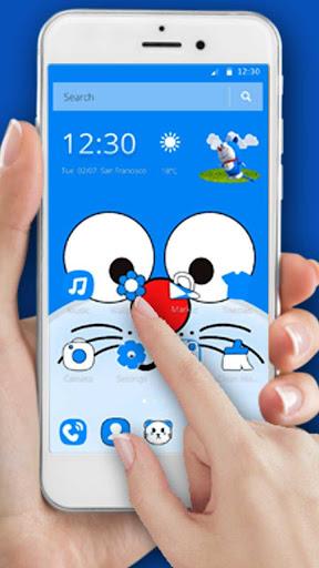 Blue Cat Wallpaper 1.1.8 screenshots 1