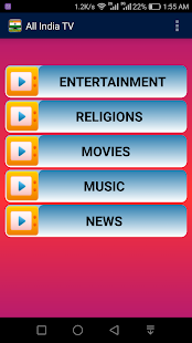India Live TV All Channels- screenshot thumbnail
