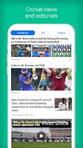UC Cricket – Live Cricket Score, news & Cricinfo Apk  Download For Android 6