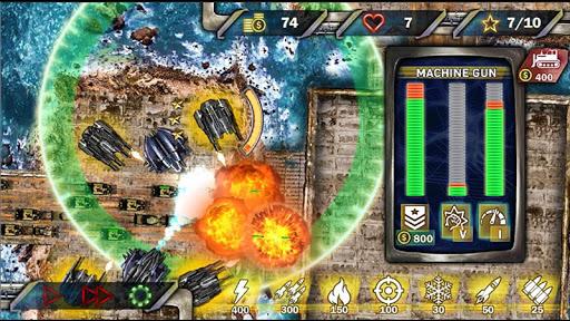 Protect & Defense: Tank Attack  captures d'écran 2