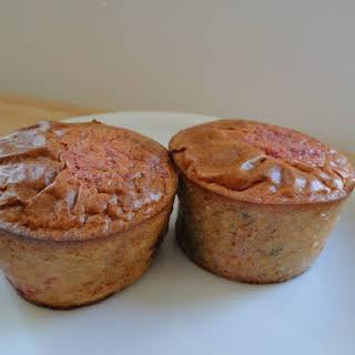 Pink Quinoa Muffins.