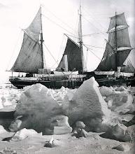 Photo: el barco queda cercado, 24 de enero