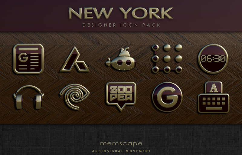 NEW YORK Icon Pack 3D Screenshot 8