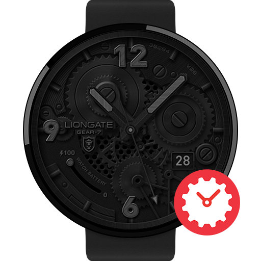 Gear-7 watchface by Liongate Icon