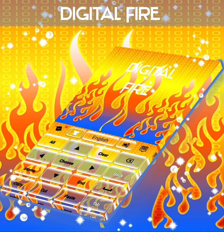Digital Fire Keyboard- screenshot