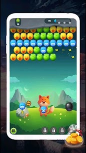 Supy bubble goal adventure 1.1 Mod + Data for Android 1