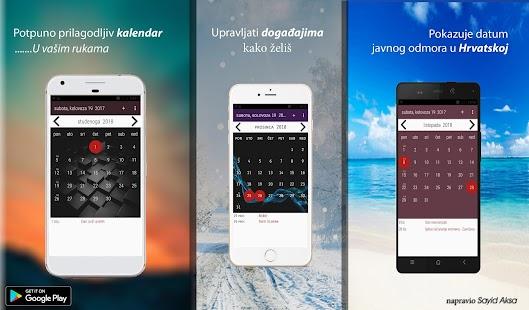 Hrvatska Kalendar - náhled