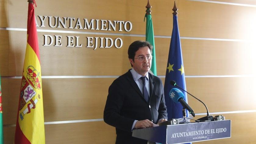 Francisco Góngora, alcalde de El Ejido