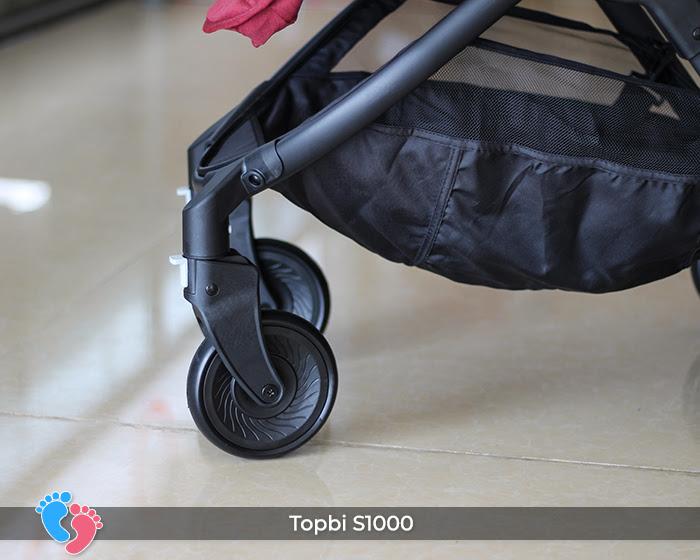 Xe đẩy cao cấp 2 chiều Topbi S1000 32