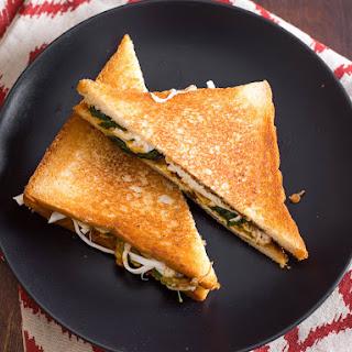Cemita Grilled Cheese Sandwich.