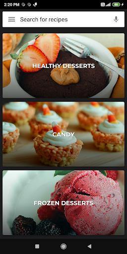 Dessert Recipes 38.0.0 screenshots 6