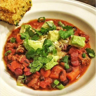 Slow Cooker Beef Chili & Homemade Jalapeño Cornbread