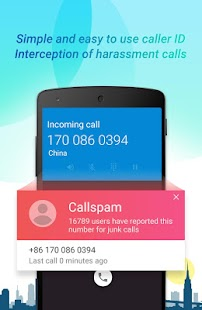Who calls-Call ID,Blocking SMS&Dialer - náhled