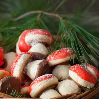 "Russian Mushroom Cookies - ""Gribochky""."