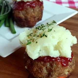 Individual Meatloaf Cups