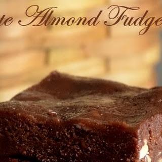 Chocolate Almond Fudge/ Chocolate Badam Burfi