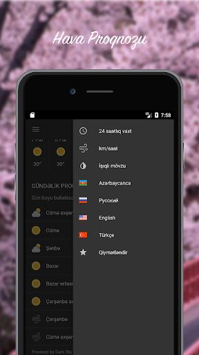 Hava Proqnozu - Azu0259rbaycan 3.0.2 Screenshots 2