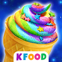 Unicorn Cupcake Cones - Cooking Games for Girls icon