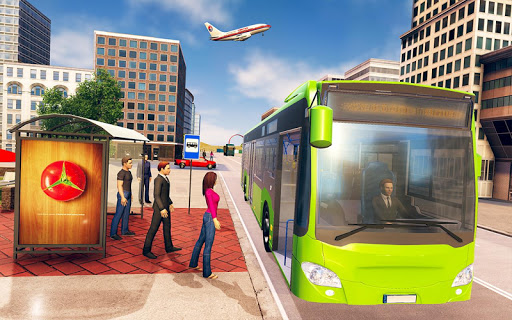 City Bus Driving School Game 3D-Coach Bus Sim 2020  screenshots 1