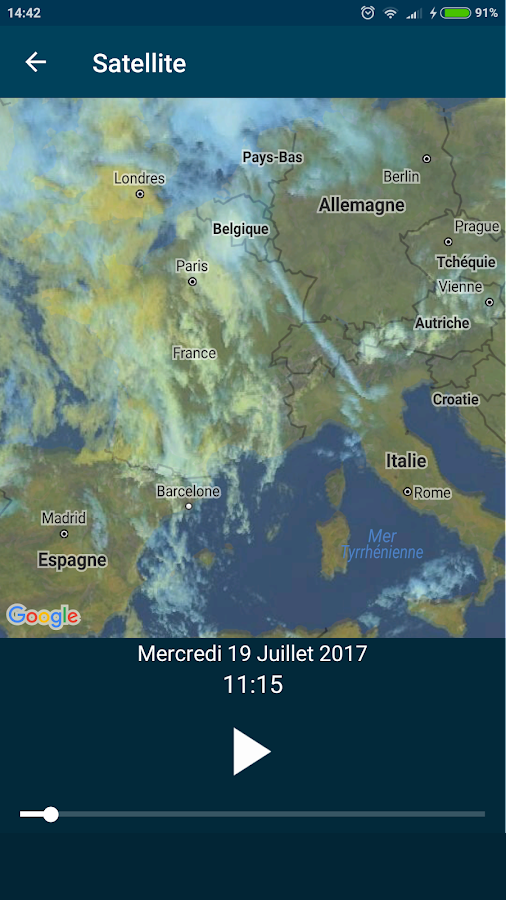 Météo-France- screenshot