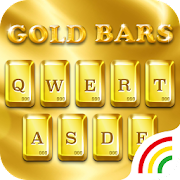 Luxury Golden Keyboard Theme for Android