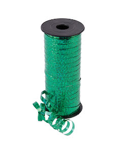 Presentsnöre, Grön glitter