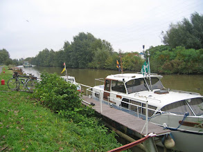 Photo: La Dender passe par Aalst et rejoint l'Escaut (Schelde)
